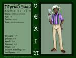 Myriad Saga-- Jeremiah Sable by beastly-gurl01