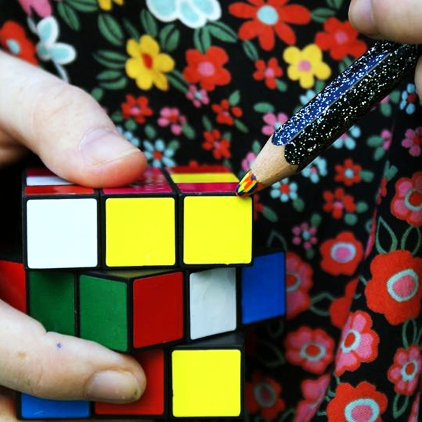 Rubik challenge - TwinkyGreenPenguin, DeviantArt