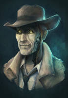 Nick Valentine by deaderrose