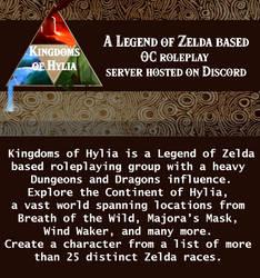 Kingdoms of Hylia [RP Group] by Azzyfree-art