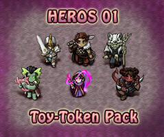 Hero Toy-Token Pack