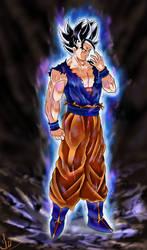 Goku Ultra Instinct by Leinty