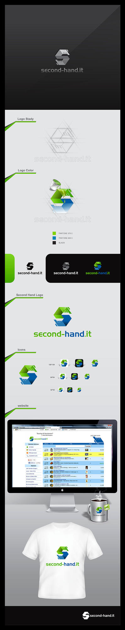 second hand logo by Enginems