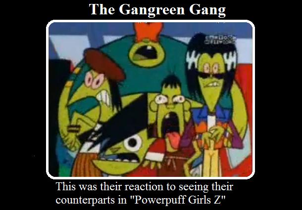 The Gangreen Gang Demotivational by PurfectPrincessGirl