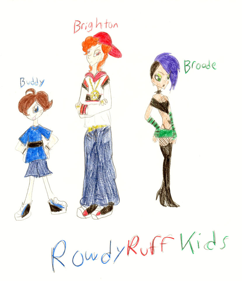 The PPGX: RowdyRuff Kids by PurfectPrincessGirl