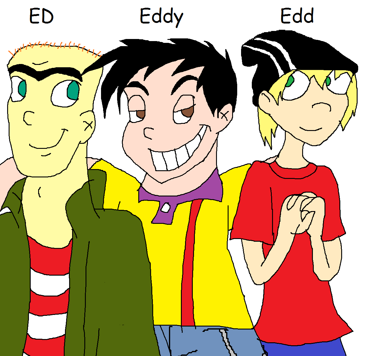 Ed Edd n Eddy by PurfectPrincessGirl on DeviantArt