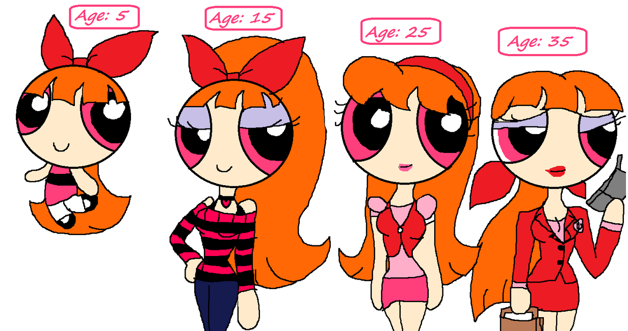 Blossom Through The Decades By Purfectprincessgirl On
