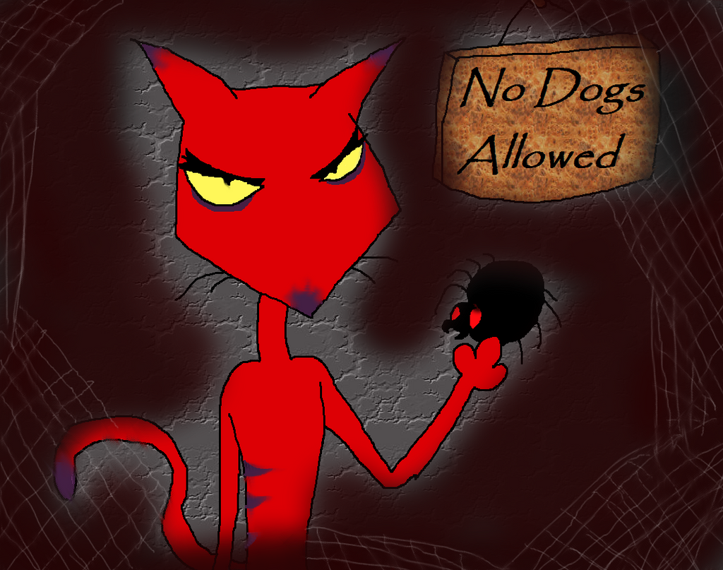 Courage the Cowardly Dog: Katz by PurfectPrincessGirl