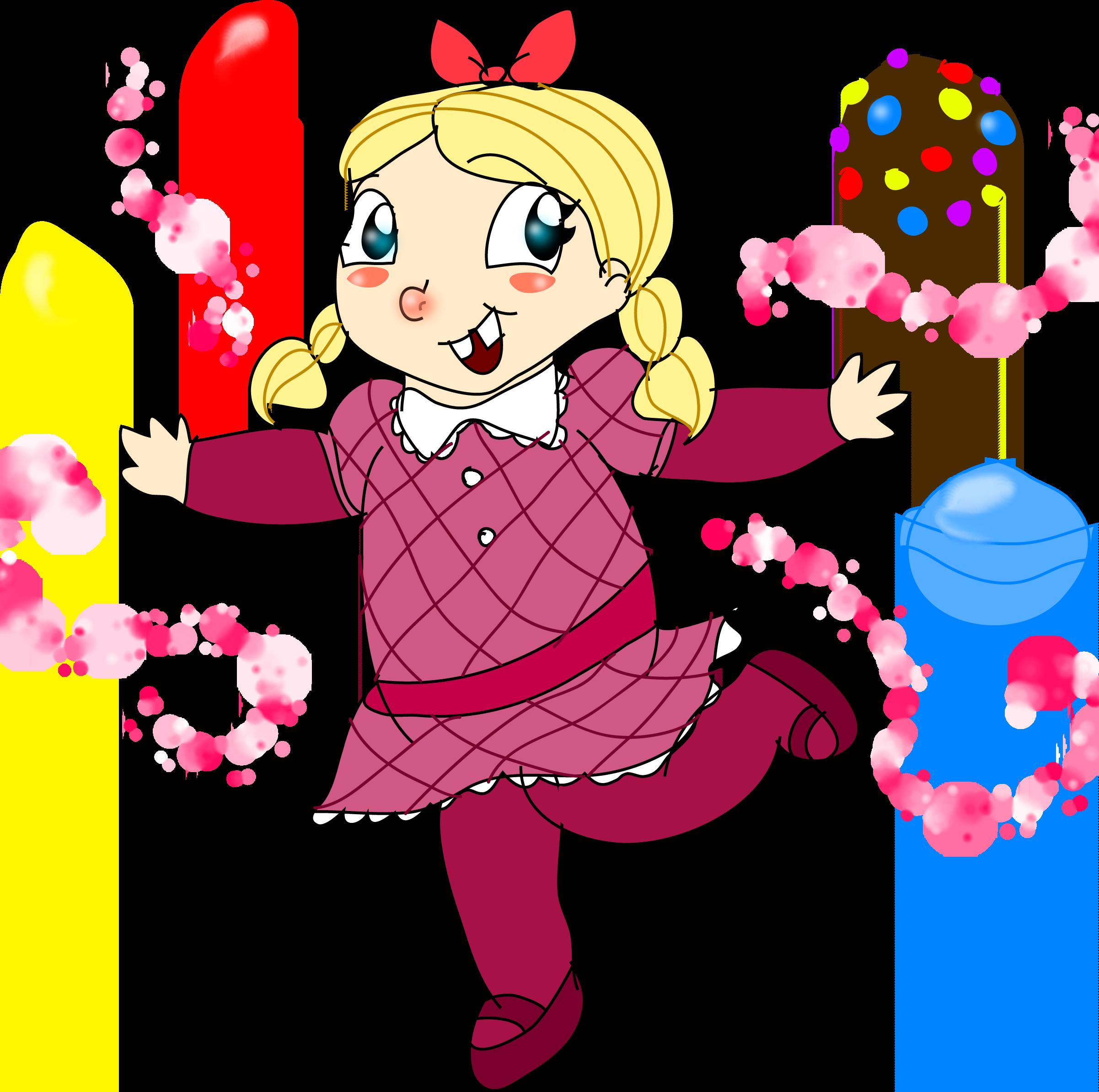 candy crush saga by purfectprincessgirl fan art digital art drawings