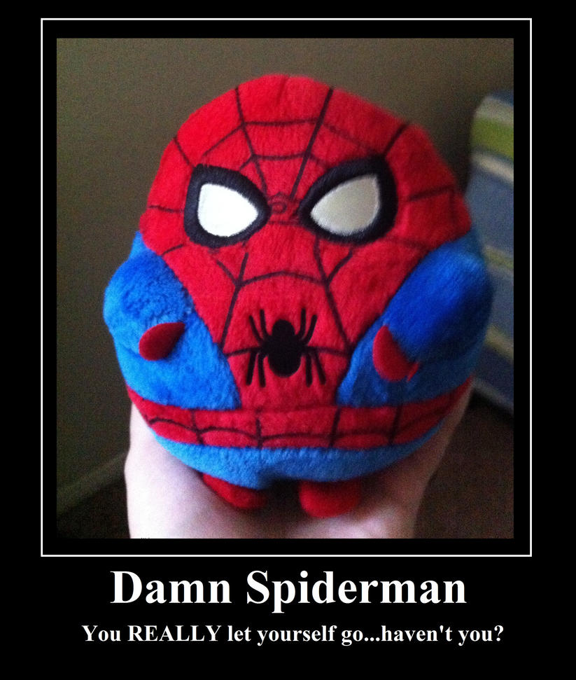 Spiderman Meme Funny Junk : Fat spiderman meme by purfectprincessgirl on deviantart