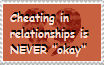 Cheating is a No-Go, End of Story