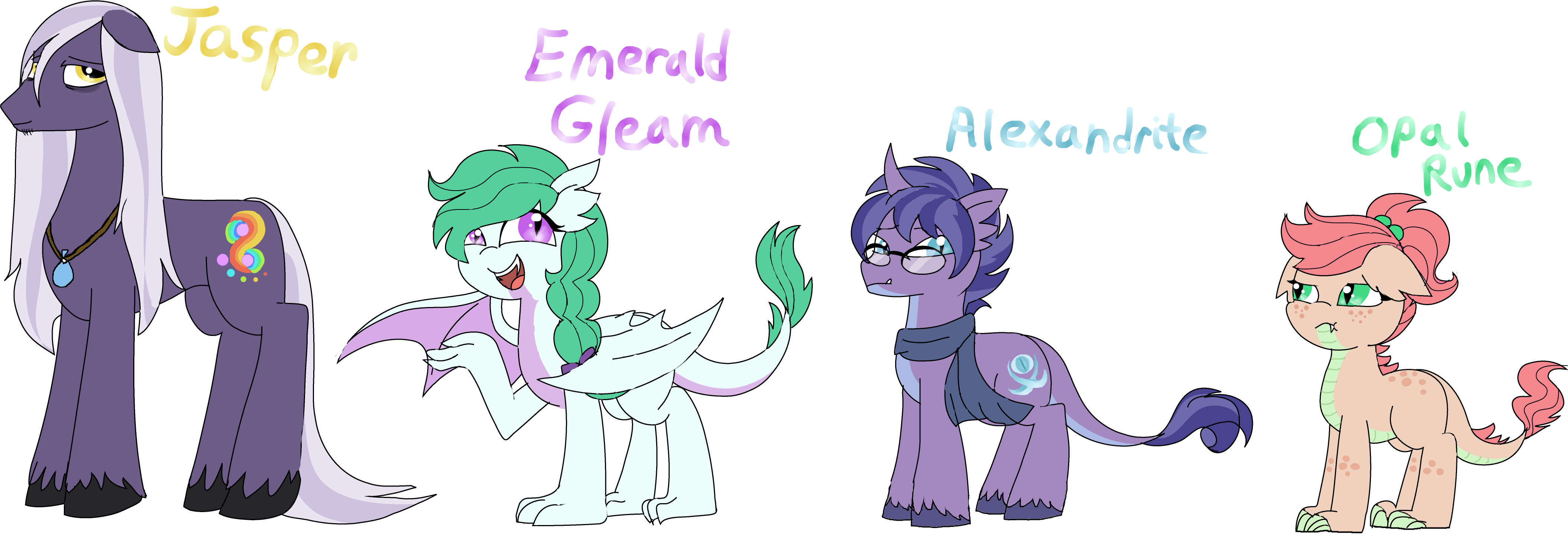 ((OLD)) Spike + Rarity Foals: Redone~ By