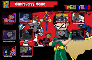 Teen Titans Controversy Meme by PurfectPrincessGirl