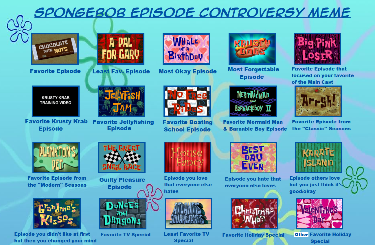 Spongebob episode controversy meme by purfectprincessgirl spongebob episode controversy meme by purfectprincessgirl