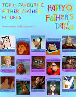 Top 15 Favorite Fathers/Fatherly Figures by PurfectPrincessGirl