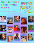 Top 15 Favorite Fathers/Fatherly Figures