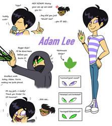 Friend, Family or Foe Entry: Adam Lee by PurfectPrincessGirl