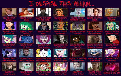 I Despise This Villain Because- (Big Meme)