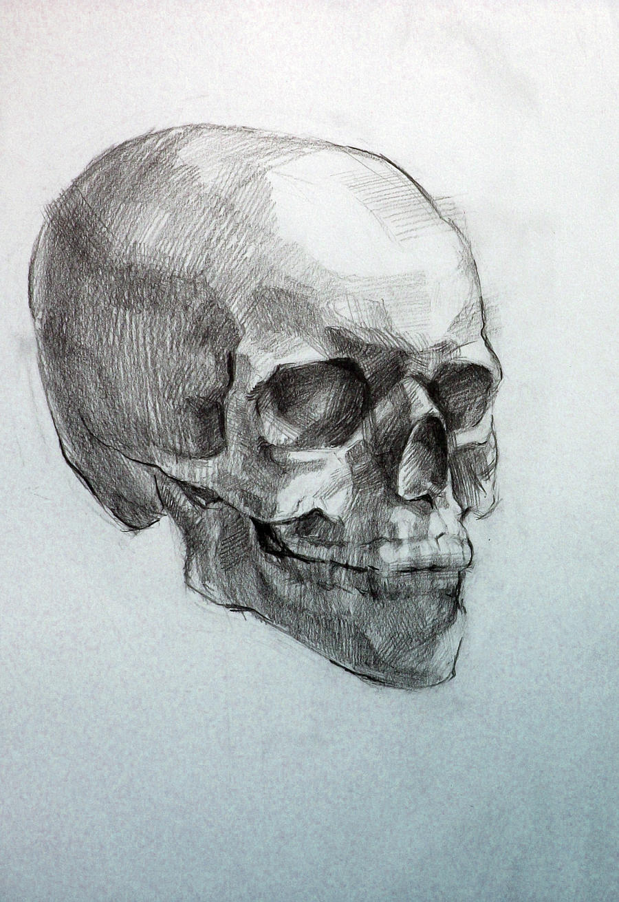 Awesome Skull Drawings