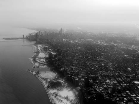 clouds of Chicago..