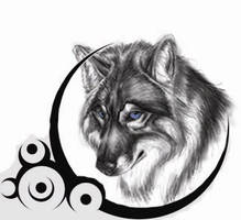 Wolf Tattoo by Jazwind