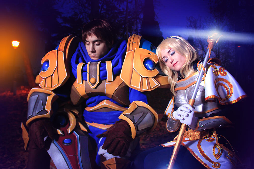 Lux y Garen - After the storm - League of Legends by NunnallyLol