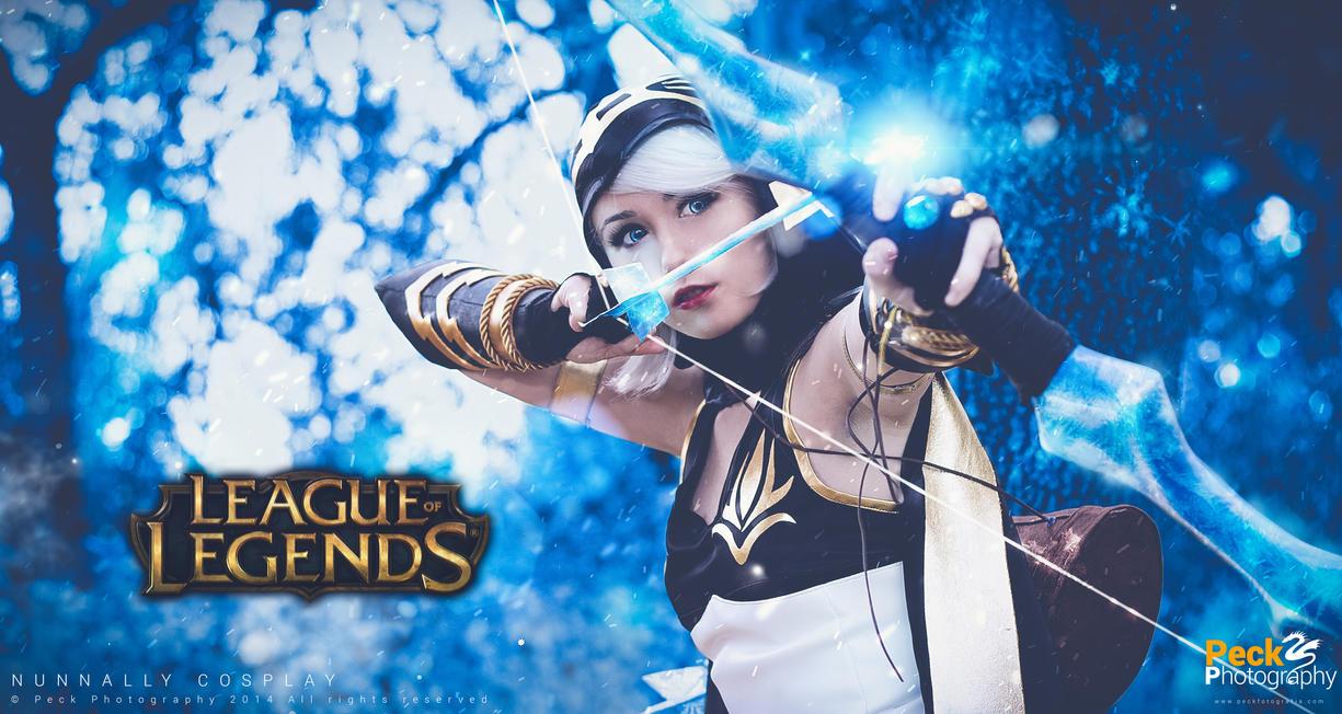 Ashe - League of Legends by NunnallyLol