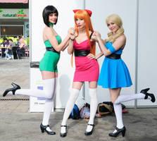 The Powerpuff Girls by NunnallyLol