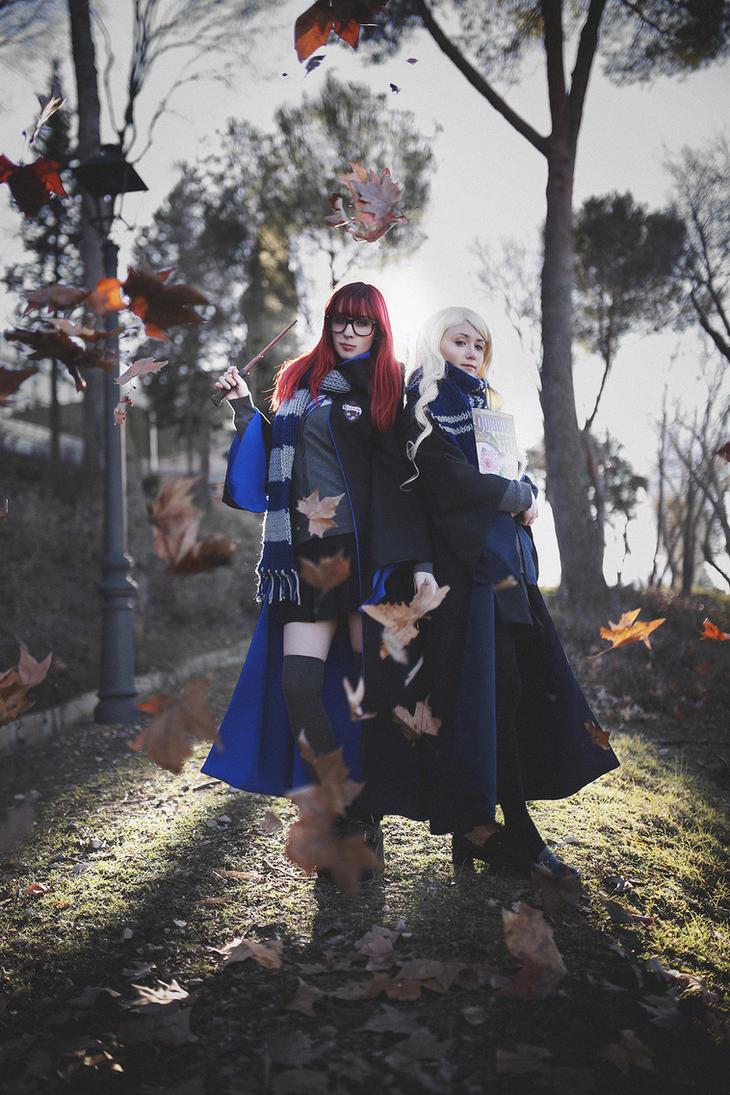 Ravenclaw's students - Luna Lovegood by NunnallyLol