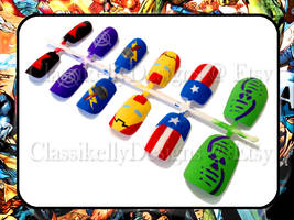 Avengers Nail Set by Classikelly