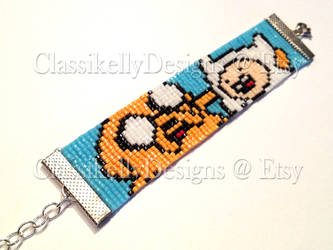 Adventure Time Beaded Bracelet by Classikelly
