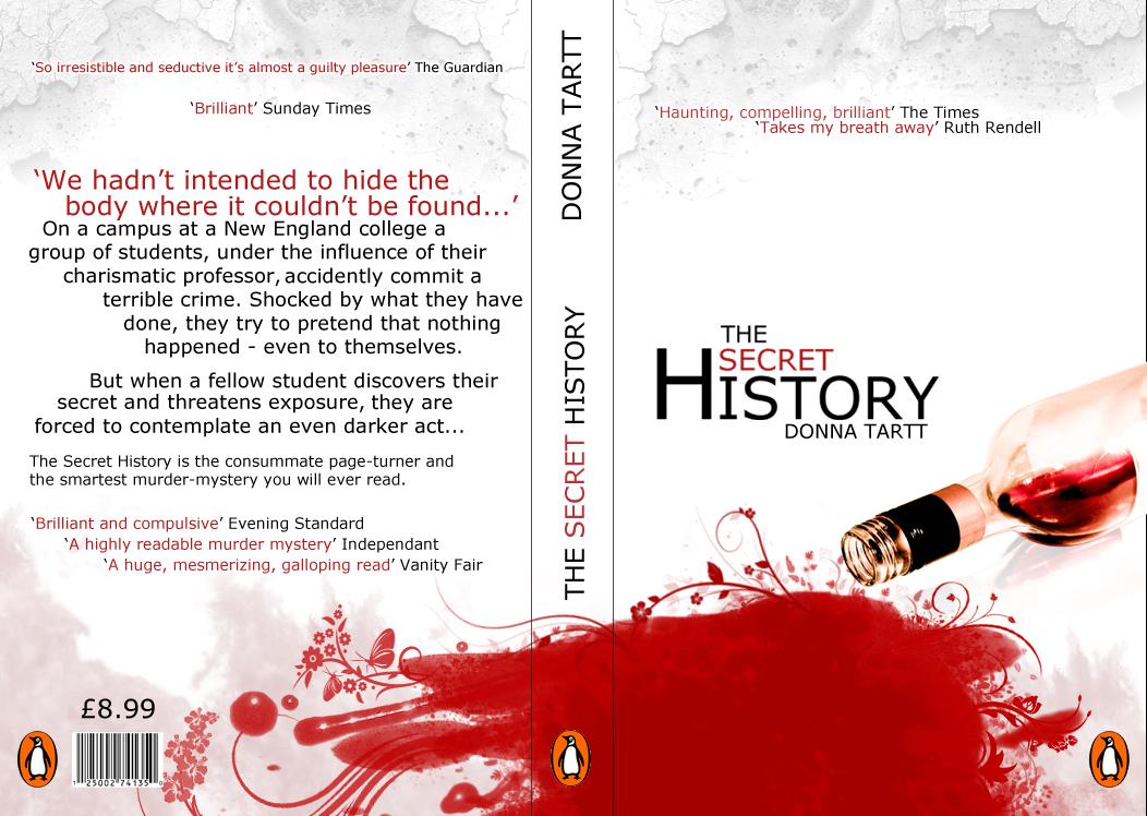 History Of Art Book Cover : The secret history book cover by edenevox on deviantart