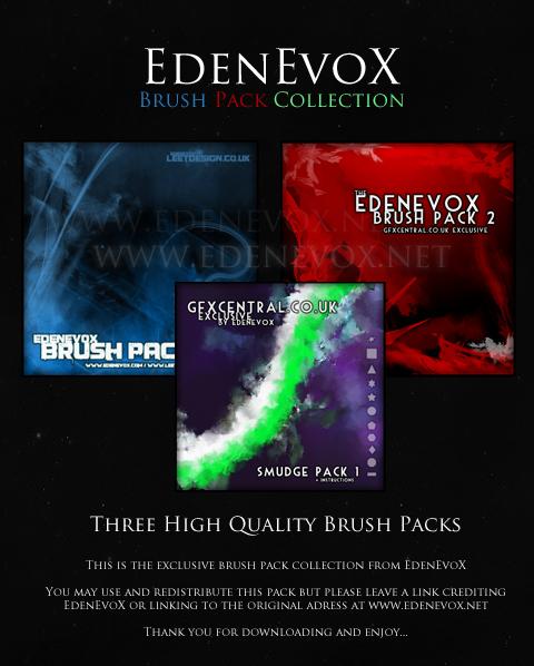 EdenEvoX Brush Pack Collection by EdenEvoX