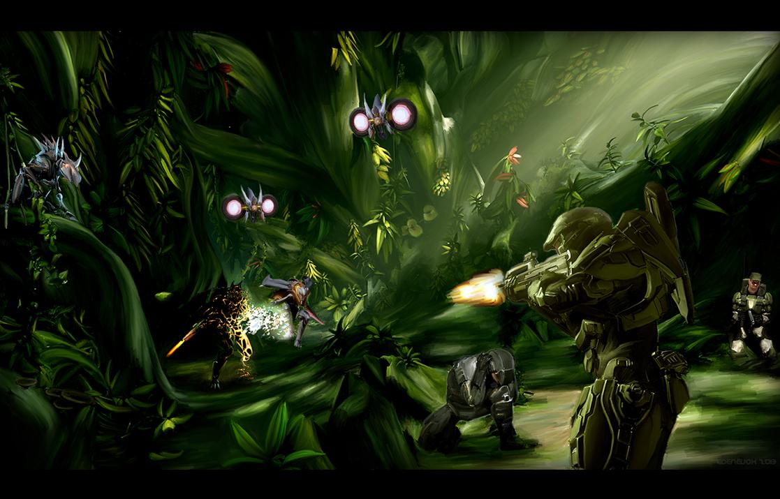 Halo 4: Infinity's Paradise by EdenEvoX