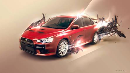 Mitsubishi Evolution X by EdenEvoX