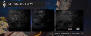Slipknot - Gray New Album Cover by EdenEvoX