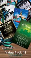 Photoshop Flyer Value Pack #1 by EdenEvoX