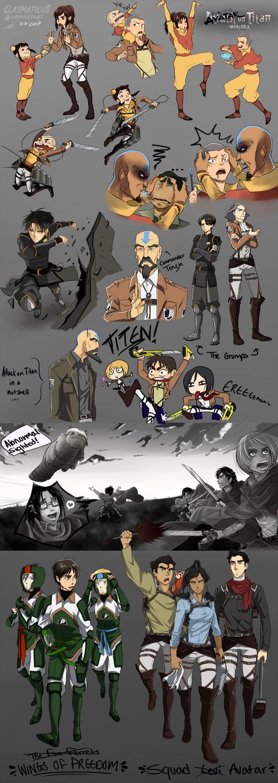 Avatar on Titan by Clasmaticii3