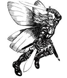 Flight. Sketch by T-Nightingale