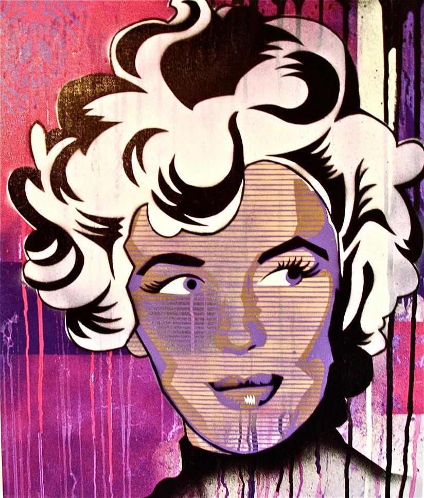 'Marilyn' by jasonserres