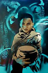 Boy Monk by jasonserres