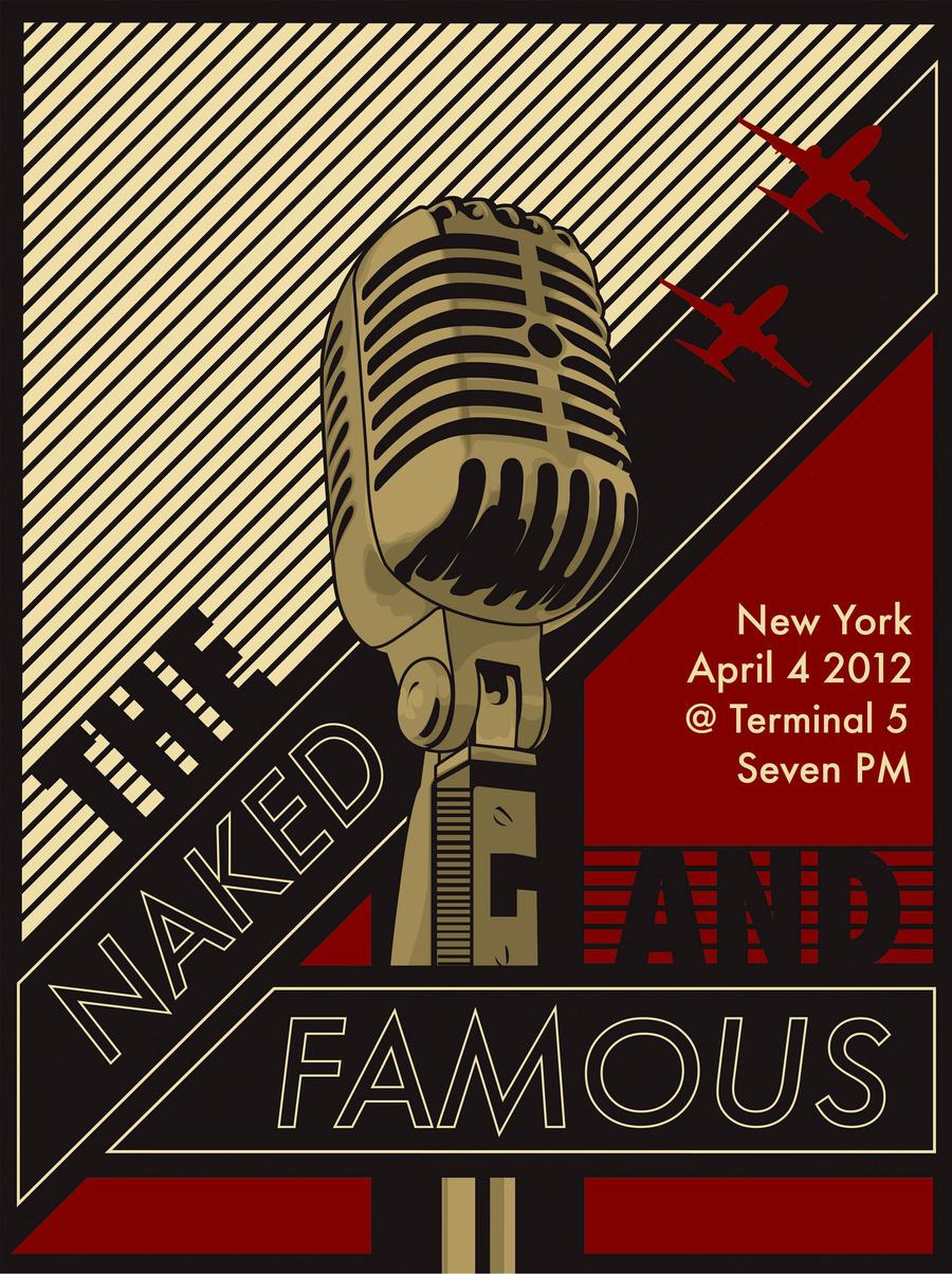 Retro Concert Posters