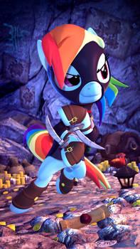Rainbow Dash the Swift