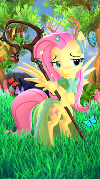 Fluttershy the Caring