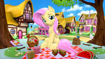 Fluttershy Picnic by OwlPirate