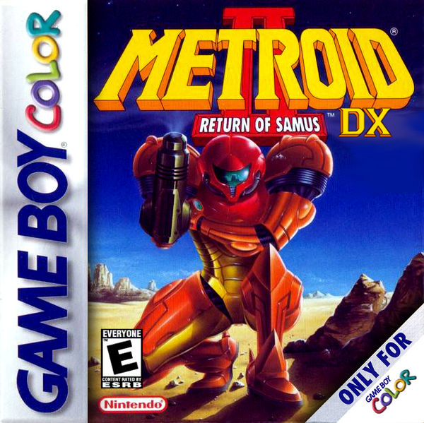 Metroid II DX Mockup Cover Art by Vinci2000 on DeviantArt