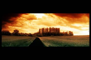 world on fire by orangebutt