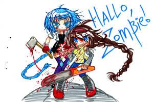 Hallo Zombie by Tegraliz