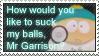 Eric Cartman Stamp. by Sabaku-no-Yamiko