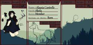Alaysia Cantrelle | Packs of the TriDivide